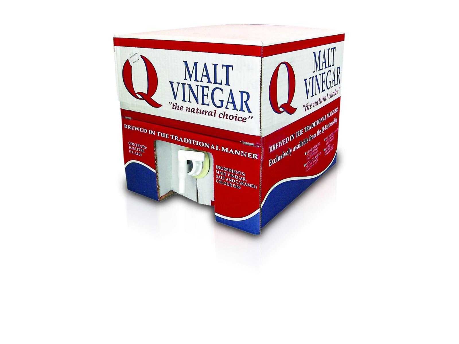 Q Cupac Malt Vinegar 4glQ Cupac Malt Vinegar 4gl