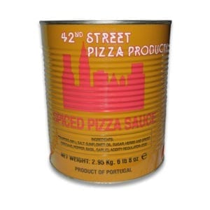 42nd Street Pizza Sauce