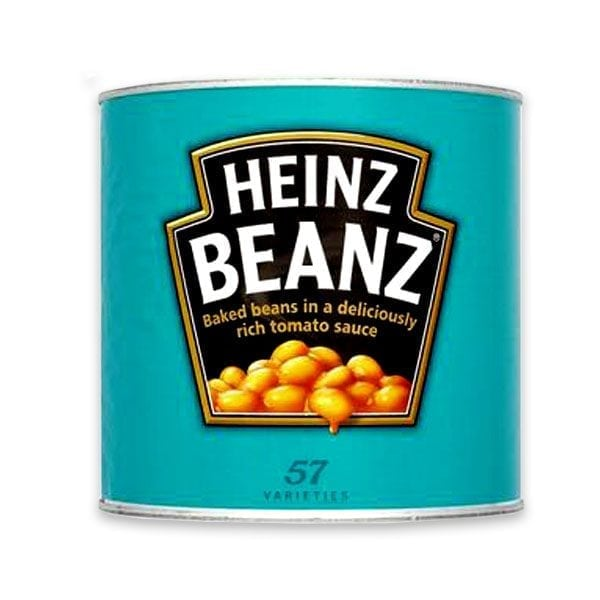 Heinz Beans 6x2 62kg Henry Colbeck