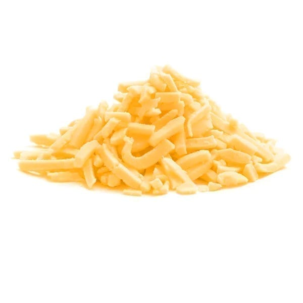 Coloured Grated Cheddar