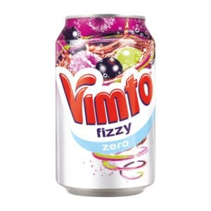 Diet Vimto Fizzy Can