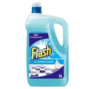 Flash with Fabreze 5L