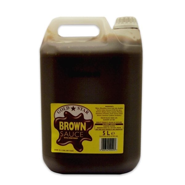 Gold Star Brown Sauce 5L