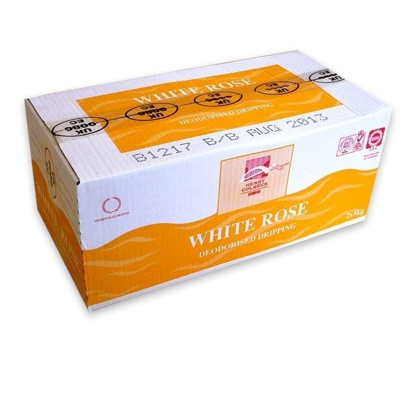 HC White Rose Deodorised Beef Dripping