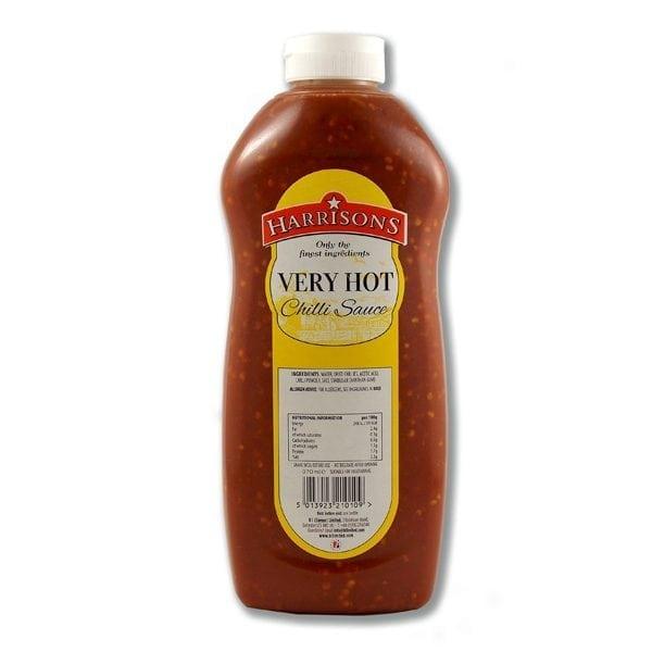 Harrisons Very Hot Chilli Sauce