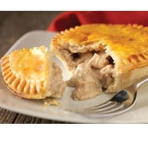 Henrys Chicken & Mushroom Pie