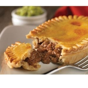 Henrys Mince & Onion Pie