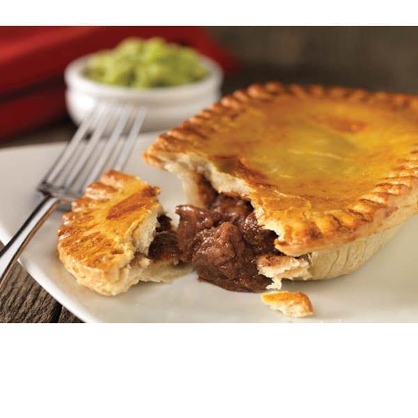 Henry's Steak Shortcrust Pies 12x217g - Henry Colbeck