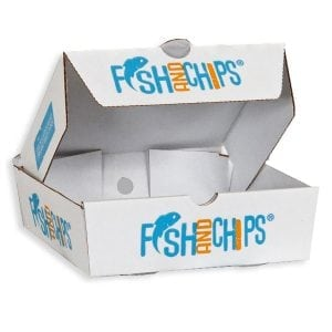 Hook & Fish Chip Boxes