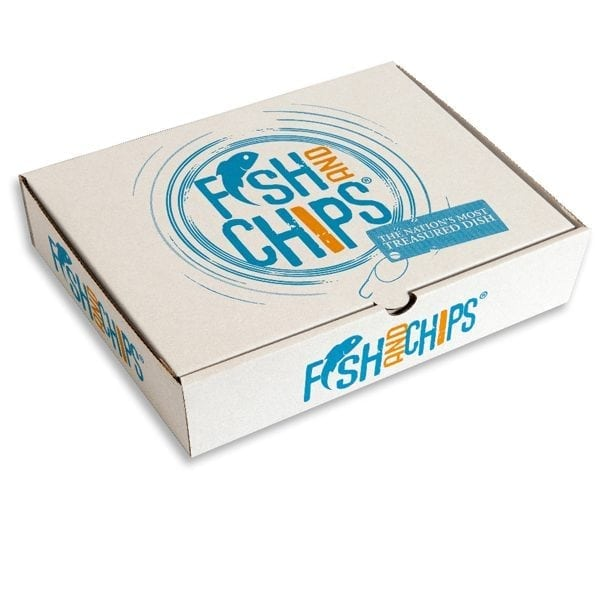 Hook & Fish Fish & Chip Box Small