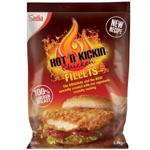 Hot n Kickin Chicken Fillets