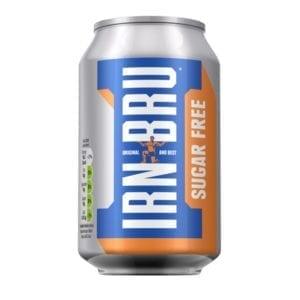 Irn Bru Sugar Free Can 330ml
