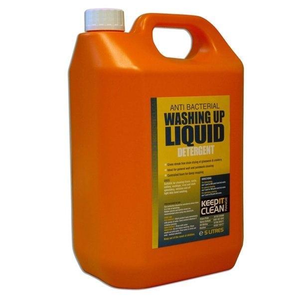 Keep It Clean Anti Bacterial Washing Up Liquid 5L