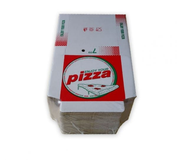 Red & Green Pizza Boxes