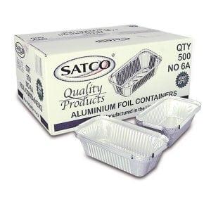 Satco No6A Foils (No Lids) 500