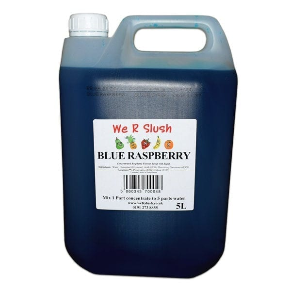 We R Slush Blue Raspberry