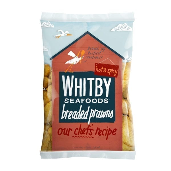 Whitby Seafoods Hot & Spicy Breaded Prawns