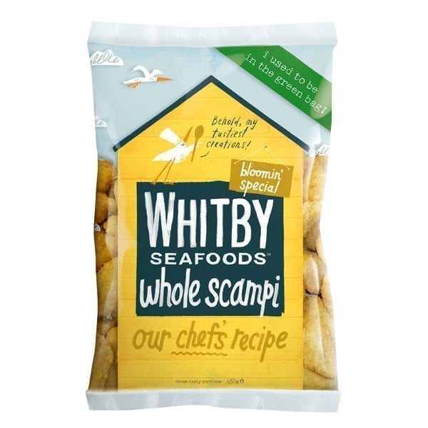 Whitby Seafoods Wholetail Scampi