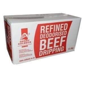 HC Refined Deodorised Beef Dripping 12.5kg
