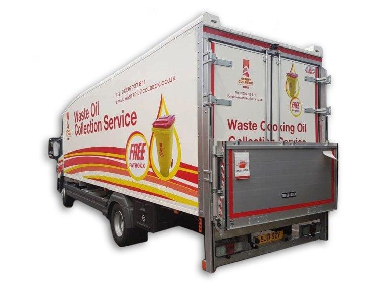 Henry Colbeck Waste Oil Van