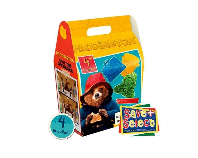 Paddington 2 Kids Meal Boxes