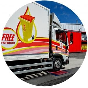 Used Oil Lorry and Fatboxx