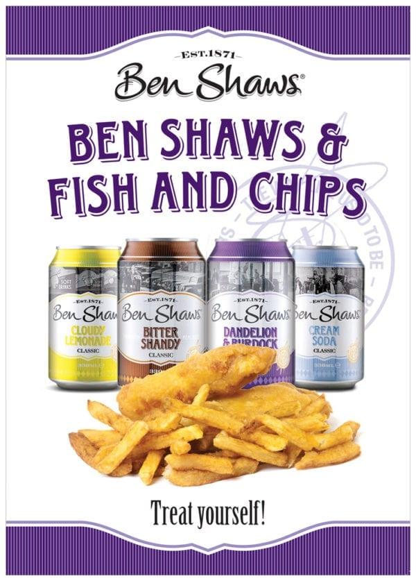 Ben Shaws Fish & Chips Poster