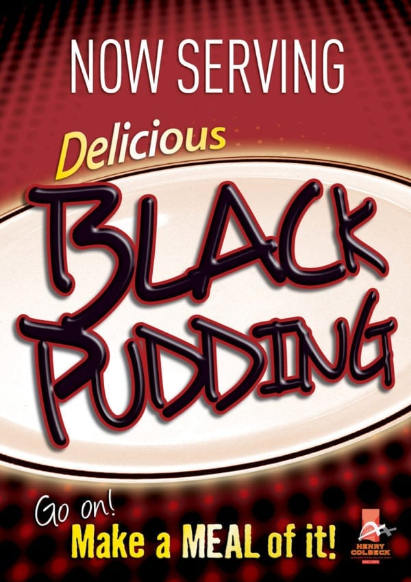 Black Pudding Poster