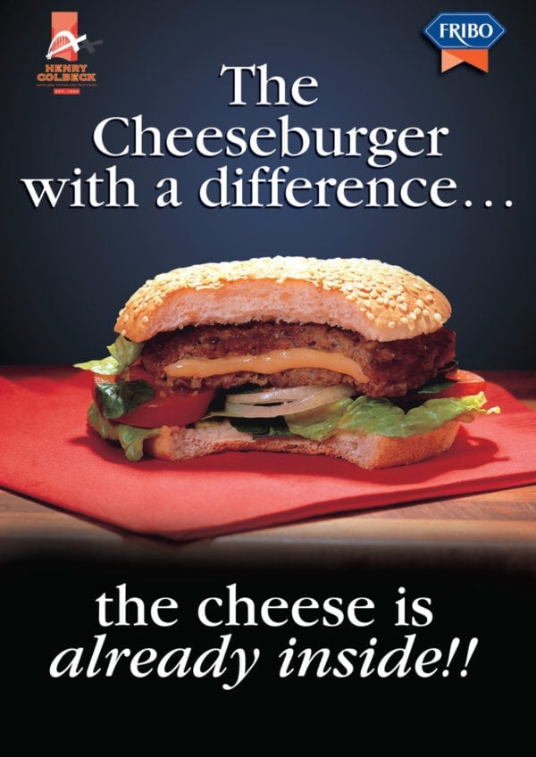 Fribo Cheeseburger Poster