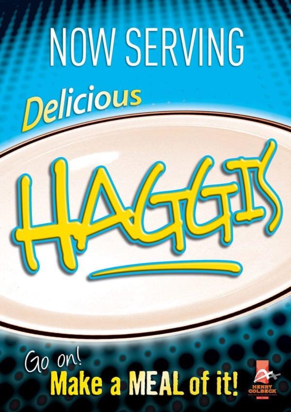 Haggis Poster
