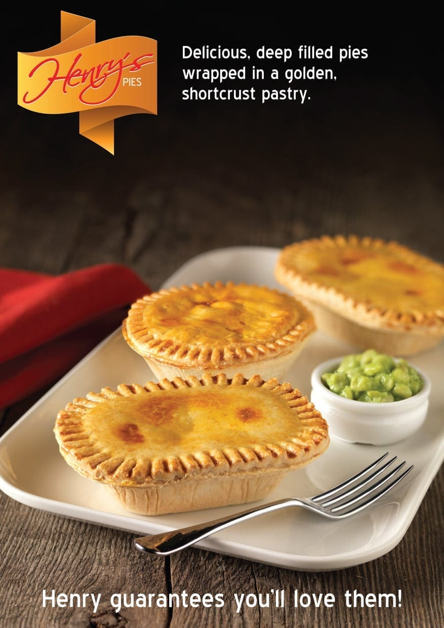 Henry's Pies Poster