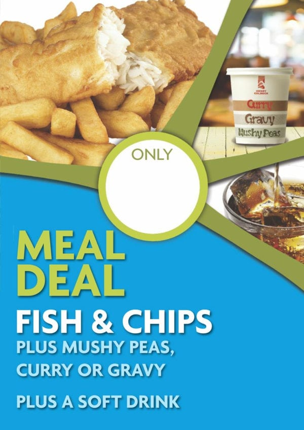 Fish & Chip Meal Deal Poster