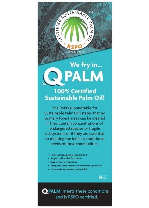 Q Palm Poster