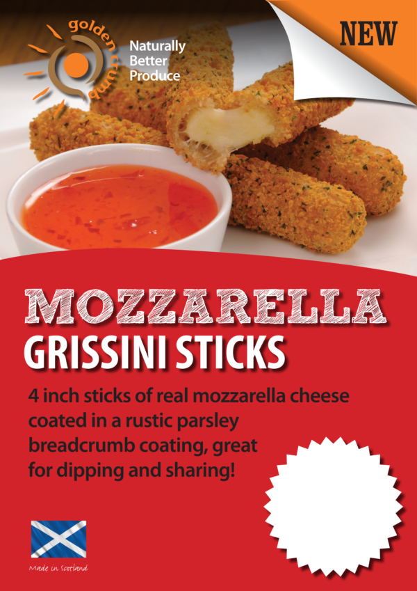 Mozzarella Sticks Poster
