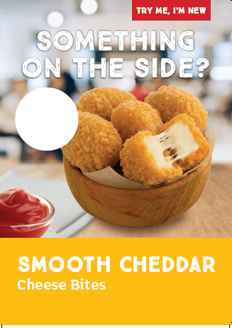 Cheddar Cheese Bites Poster
