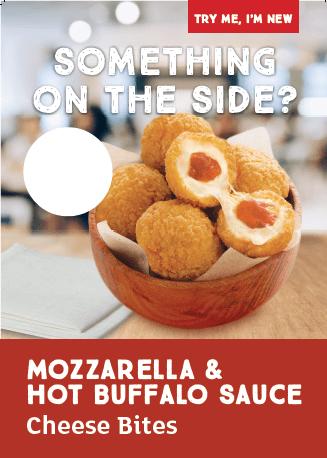Mozzarella & Buffalo Sauce Poster
