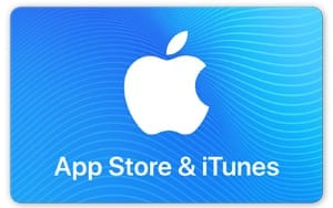 iTunes App Store Gift Card