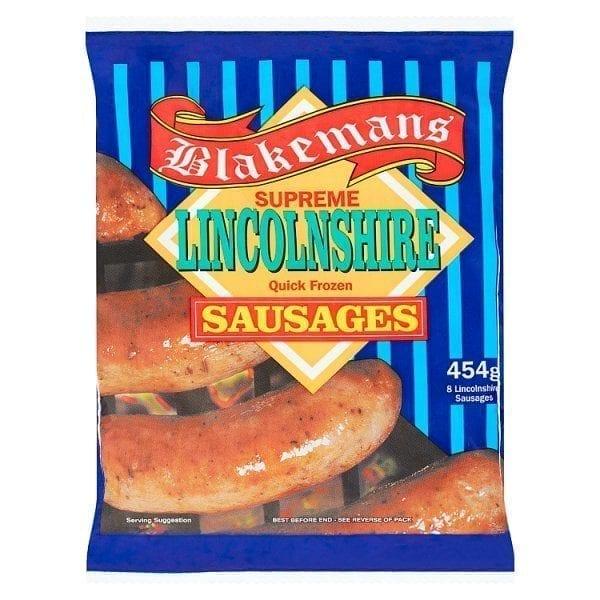 Blakemans Lincolnshire Sausage