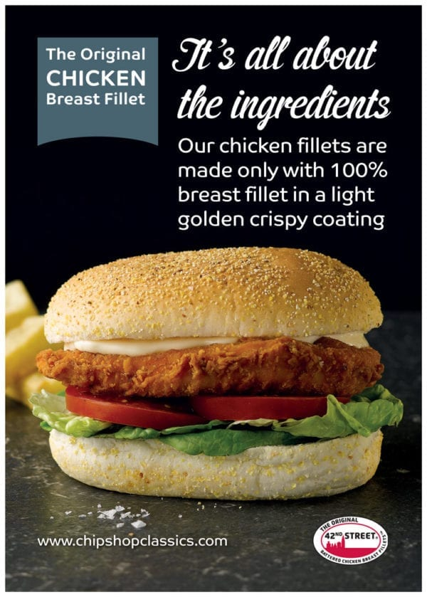 42nd Street Chicken Fillet Poster