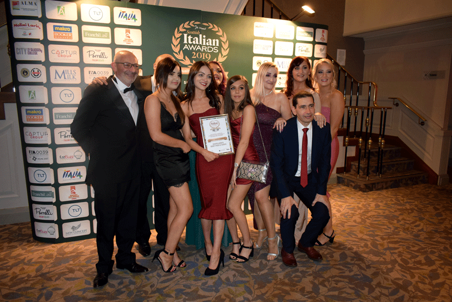 Scottish Italian Awards 2019
