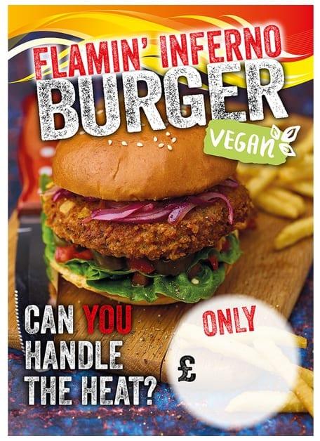 Vegan Burger Poster