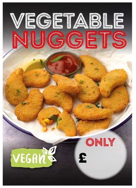 Vegan Nugget Poster