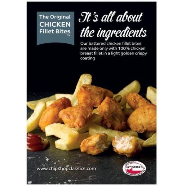 42nd-Street-Chicken-Fillet-Bites-Poster-600x839
