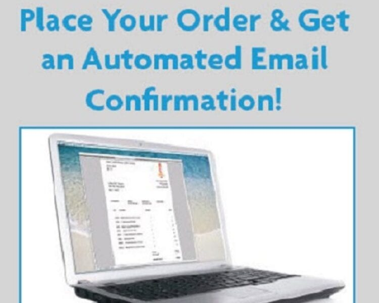 Automated confirmation email